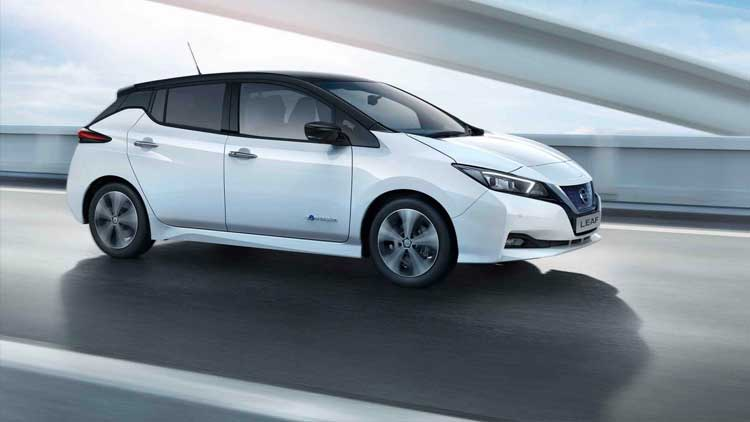 NISSAN LEAF - ELECTRIC VEHICLE