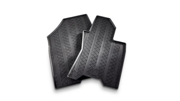 RUBBER FLOOR MATS (FRONT) Recommended Fitted Price: $134.00