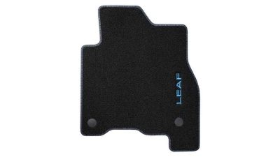 VELOUR MATS DOUBLE STITCHING - BLUE